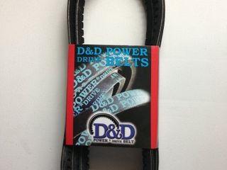 D D PowerDrive BX55 Clark Equipment Replacement Belt  BX  1  Band  58  length  Rubber