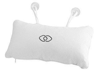 FTVOGUE Non Slip Bath Pillow Bathtub Spa Cushion with Suction Cups Head Neck Support