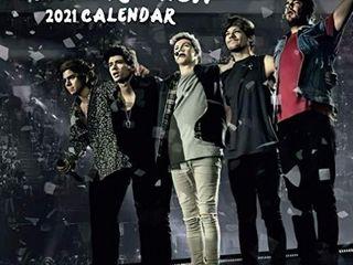 One Direction  2021 Wall Calendar   Mini Calendar  7 x7  12 Months