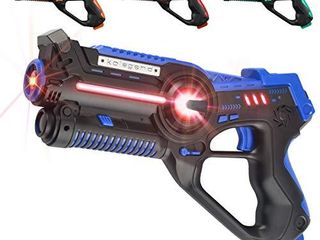 kolegend laser Tag Set  laser Tag Guns Set of 4 Multi Function lazer Guns for Multi Player Teenager Kids and Adults Home or Backyard   Outdoor Game for Boys   Girls and Family