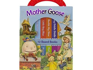 Mother Goose Deluxe My First library 12 Board Book Block   PI Kids