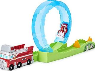 Paw Patrol  True Metal Ultimate Fire Rescue Track Set with Exclusive Marshall Die Cast Vehicle  1 55 Scale