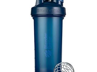 BlenderBottle Classic V2 Shaker Bottle Perfect for Protein Shakes and Pre Workout  28 Ounce  Navy