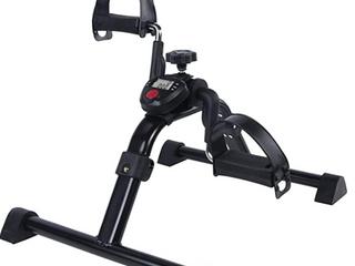 Vaunn Medical Folding Pedal Exerciser With Electronic Display