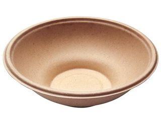 100 pcs  22 oz Round Disposable Bowls   Natural Bagasse Sugarcane Bamboo Fibers PlA Coating Eco Friendly Environmental Paper Plastic Bowl Alternative 100  by product Tree Wax Free Hot liquids Proof