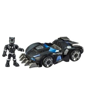 Playskool Heroes Marvel Super Hero Adventures Black Panther Road Racer  5 Inch Figure and Vehicle Set  Collectible Toys for Kids Ages 3 and Up  Missing Figurine
