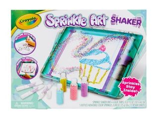 Crayola Sprinkle Art Shaker  24 Pieces  Gift for Kids