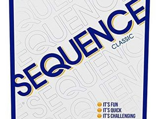 SEQUENCE  Original SEQUENCE Game with Folding Board  Cards and Chips by Jax