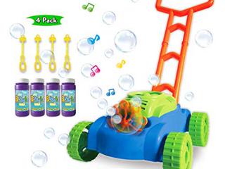 Toyvelt Bubble lawn Mower For Kids   Automatic Bubble Machine With Music Sounds