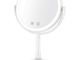 Bestope Makeup Mirror 1x 7x lighted Magnifying Mirror 3 Color light Mode