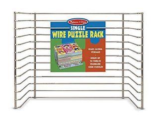 Melissa   Doug Single Wire Puzzle Rack