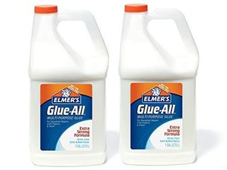 Elmer s Glue All Multi Purpose liquid Glue  Extra Strong  1 Gallon  1 Count   Great For Making Slime