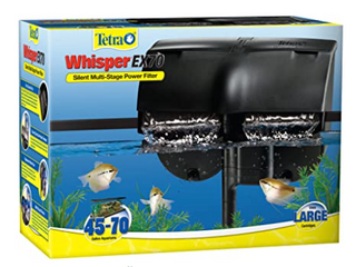 Tetra Whisper Ex 70 Filter For 45 To 70 Gallon Aquariums  Silent Multi stage Fil