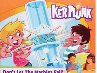 Kerplunk Classic Kids Game With Marbles  Sticks And Game Unit  Easy to learn