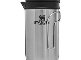 Stanley Adventure All in One Boil   Brew camping french press  32 oz  Silver
