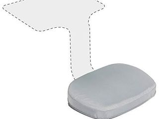 ECR4Kids The Surf Cushion  Added Seat Cushion for The Surf Portable lap Desk  Padded Foam Support for Flexible Seating  Grey  Surf Desk Sold Separately