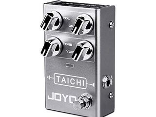 JOYO Tai Chi R 02 R Series low Gain Overdrive Pedal Smooth Overdrive Sound of Classic Dumble Amp for Electric Guitar Effect  R 02