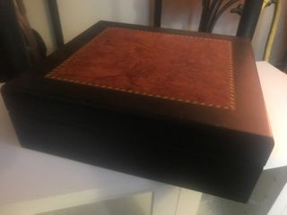 Nice wooden box blade for storage cigars use your imagination