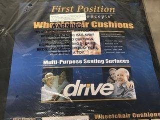 New gel wheelchair seat pad