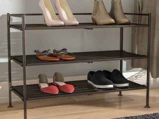 New in box 3 tier shoe rack