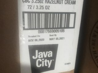 Case of Java city coffee 72 individual packets of 3 5 ounce coffee this is 15 pounds of coffee as pictured
