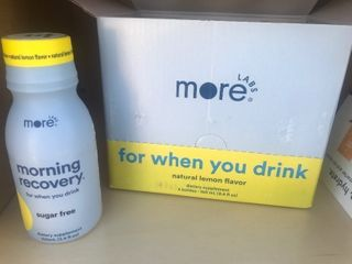 2  Box of six morning recovery drinks look up online for more details retail for  29 a box