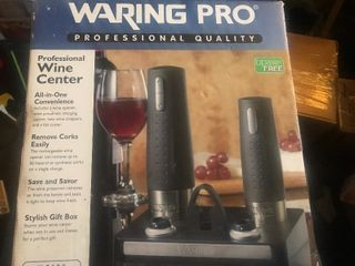 New commercial grade wine care kit as a picture