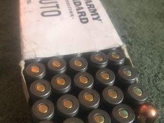 45 auto cartridges box of 50