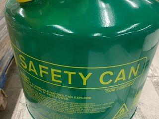 New 3 gallon can with funnel as pictured