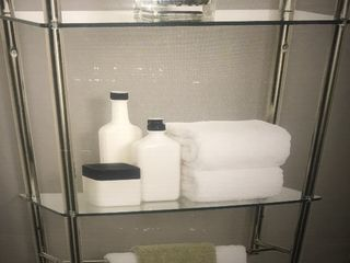 Do you inbox stylish bathroom shelves as pictures