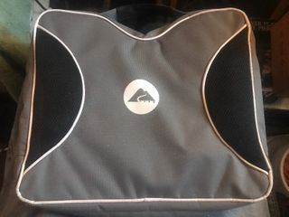 To easy on the go bleacher seat pads great for the Royals any sports event