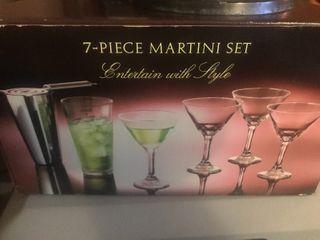 New martini set seven piece