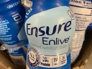 32  8 ounce bottles of ensure vanilla shakes high dollar item best used date june 2021 load up on these