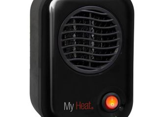 MyHeat 200 Watt Electric Portable Personal Space Heater  Black  Retail  21 57
