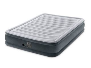 Intex Dura Beam Plus Series Mid Rise Airbed with Built In Electric Pump  Full  Retail  83 99