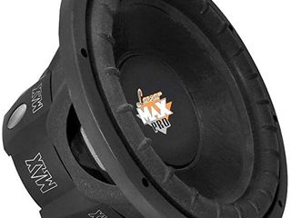 lanzar 8 inch Car Subwoofer Speaker   Black Non Pressed Paper Cone  Aluminum Voice Coil  4 Ohm Impedance  800 Watt Power and Foam Edge Suspension for Vehicle Audio Stereo Sound System   MAXP84  Retail  33 70