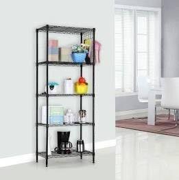 Alvorog 5 Tier Shelving Units For Storage  Multipurpose Storage Shelves With 10