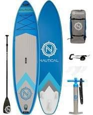 Irocker Nautical Inflatable Paddle Board   Blue