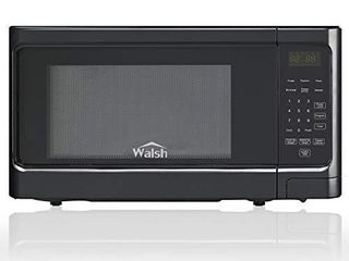 Walsh WSCMS311BK 10 Countertop Microwave Oven  6 Cooking Programs lED lighting Push Button  1 1 Cu Ft 1000W  Black  DOOR SWITCH DOES NOT WORK