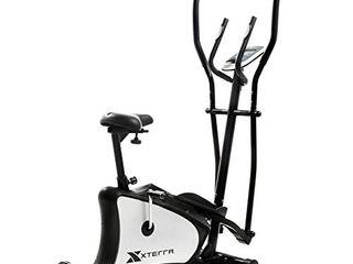 XTERRA Fitness EU150 Hybrid Elliptical Upright Bike  Black