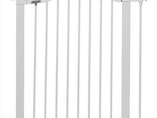 Munchkin Easy Close Metal Safety Gate  White