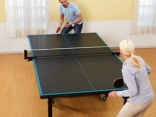 MD Sports Official Size 2 piece Table Tennis Table