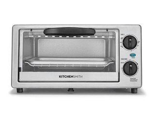 KitchenSmith Toaster Oven   Stainless Steel