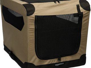 Amazonbasics Folding Soft Dog Crate  26  26