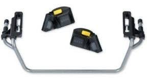 Bob Gear Single Jogging Stroller Adapter For Britax Infant Car Seats Gray