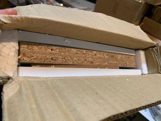 Furinno 11003 3 Tier Open Shelf Bookcase  White light Blue