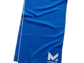 Mission HydroActive Premium Techknit large Towel   Blue