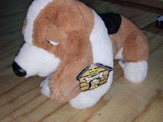 12 Inch Ck Basset Hound Dog Plush Stuffed Animal By Wild Republic