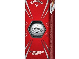 Callaway Chrome Soft    3 Balls  White