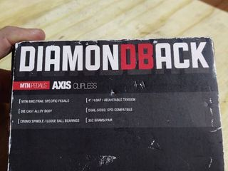 Diamondback Bicycles Axis Trail Mountain Bike Pedal